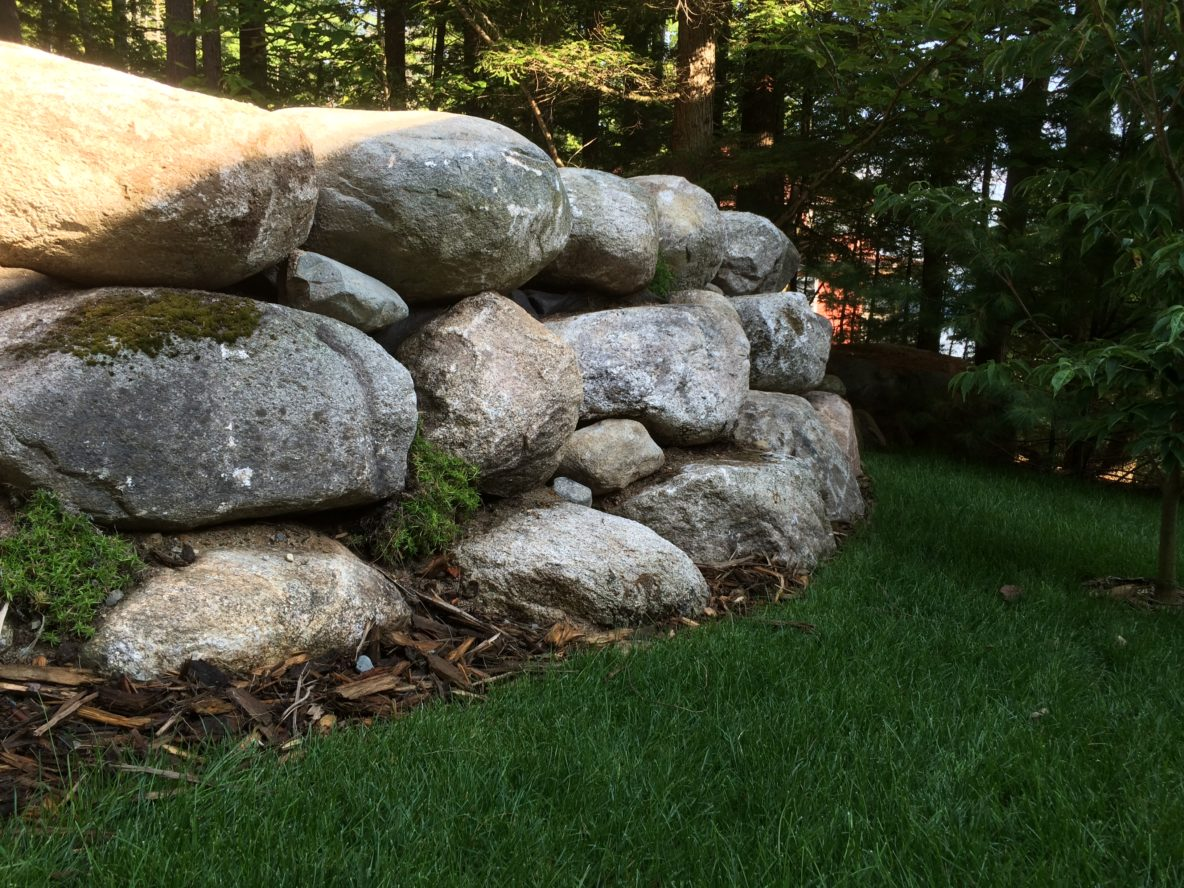 Retaining Wall Archives C M Nichols Landscaping And Design In Maine